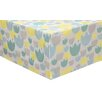 babyletto Tulip Garden Crib Skirt - Cot Bedding Accessories Baby Bedding