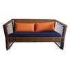 100 Essentials Borneo Loveseat with Cushions
