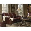 Bradington-Young Gearhart  Leather Sofa and Loveseat Set - Sofa and Chair Shop