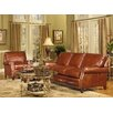 Bradington-Young Colton Leather Sofa and Loveseat Set - Sofa and Chair Shop