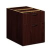 Basyx BL Series 1925 H x 1563 W Desk File Pedestal Finish Mahogany
