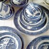 Johnson Brothers-johnson Brothers Willow Blue Scalloped Dish