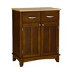 Cherry Base and Natural Wood Top Buffet 1109 144