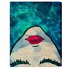 Oliver Gal Watercoveted Graphic Art on Wrapped Canvas