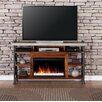 17 Stories Perei 62 TV Stand with Fireplace