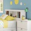 South Shore Karma Bookcase Headboard - Children's Headboards Kids Furniture