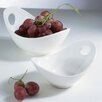 7 Fruit Bowl With Cut Out (set Of 3)