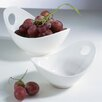 10 Fruit Bowl With Cut Out (set Of 2)
