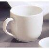 Classic White 8 Oz. C Handle Straight Sided Mug (set Of 6)