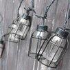 10 Light 75 ft Lantern String Lights