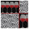 Zebra Wine Occasions Coasters Set - Thirstystone Coasters and Trivets