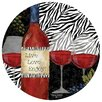 Zebra Wine Occasions Coaster - Thirstystone Coasters and Trivets