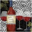 Zebra Wine Occasions Trivet - Thirstystone Coasters and Trivets
