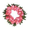 16 Peony Wreath