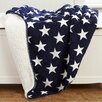 Birch Lane Kids Stars & Snuggles Sherpa Throw - Blankets And Throws Baby Bedding