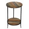 17 Stories Cothern 2 Tier End Table with Metal Legs