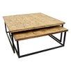 17 Stories Engram 2 Piece Nesting Tables