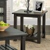 17 Stories Benefield End Table Color Antique Black