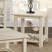 17 Stories Benefield End Table Color Antique White