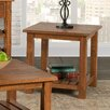 17 Stories Benefield End Table Color Honey Tobacco