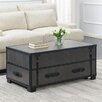 17 Stories Elijah Coffee Table with Storage Color Gray