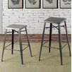 17 Stories Agnes Industrial 26 Swivel Bar Stool