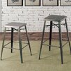 17 Stories Amias Industrial 30 Bar Stool
