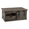 17 Stories Adelina Coffee Table with Storage Color Gray