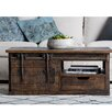 17 Stories Adelina Coffee Table with Storage Color Brown