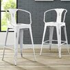 17 Stories Garlyn 295 Bar Stool Color White