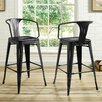 17 Stories Garlyn 295 Bar Stool Color Black