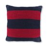 18 Crew Striped Knit Decorative Throw Pillow