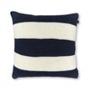 18 Crew Striped Knit Decorative Throw Pillow Color NavyWhite