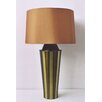 Striped Gemini Table Lamp Olive Gold Shade 266 13078