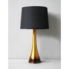 Ostrich Table Lamp Rust Horizon Linen Shade 266 13078