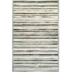 Chalet Plank Gray/Ivory Area Rug Rug Size: 2' x 4'