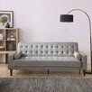 Shayne Convertible Sofa - Upholstery: Gray - Ivy Bronx Sofas