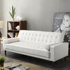 Shayne Reclining Sofa - Upholstery: White - Ivy Bronx Sofas