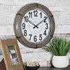 145 Modern Rustic Wall Clock