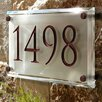 Clarus Crystal Address Plaques and Lettering