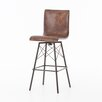 17 Stories Clovis Swivel Bar Stool
