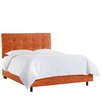 Gerdes Tufted Upholstered Panel Bed