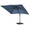 10 Square Cantilever Umbrella Color Blue Lavender