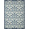 Home and Garden Blue Area Rug
