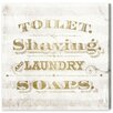 Laundry Soaps Canvas Print, Oliver Gal August Grove : image