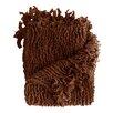 Malibu Ruffled Throw Blanket August Grove : image