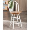 Strange August Grove 30 Swivel Bar Stool Color White Seat Height 30 Bralicious Painted Fabric Chair Ideas Braliciousco