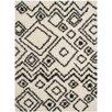 Trent Austin Design Malibu Ivory / Charcoal Area Rug