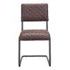 17 Stories Fien Side Chair Upholstery Vintage Brown
