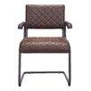 17 Stories Fien Arm Chair Upholstery Vintage Brown